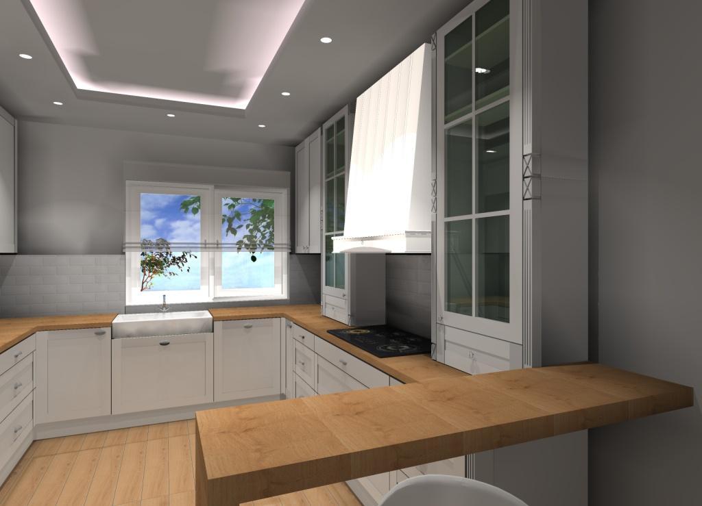 Klasyczna Kuchnia Pomysł Na Projekt Aranżację Kuchni