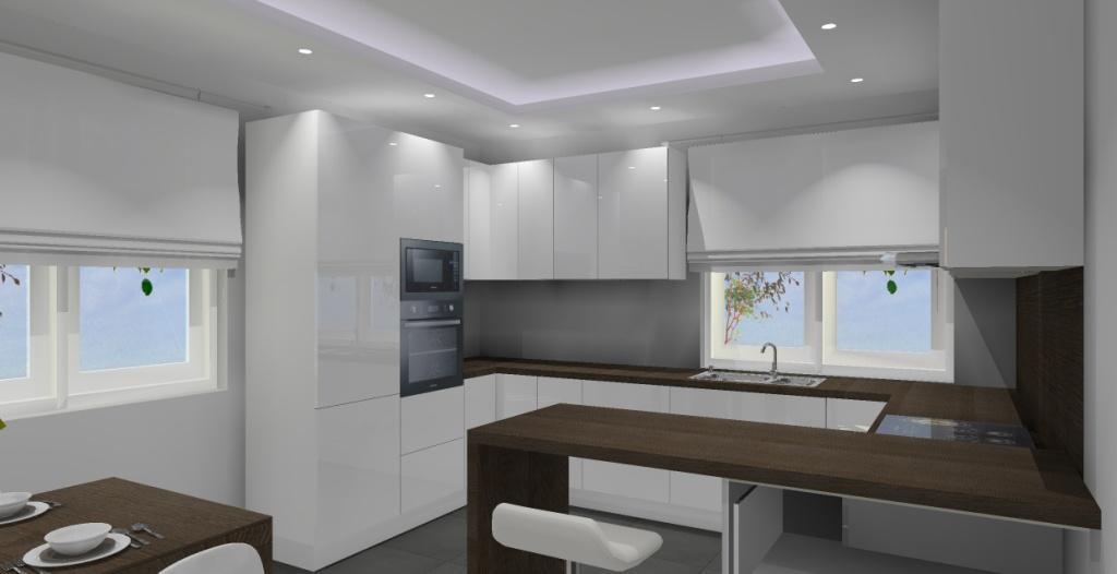 Nowoczesna kuchnia – Pomysł na projekt / aranżację kuchni ...