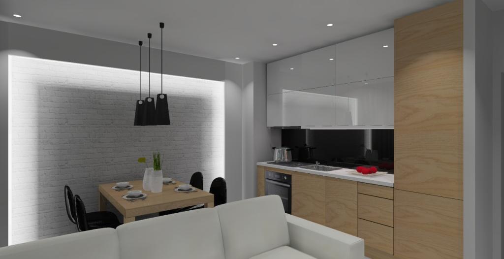 Nowoczesne Mieszkanie W Bloku Pomysł Na Projekt Aranżację