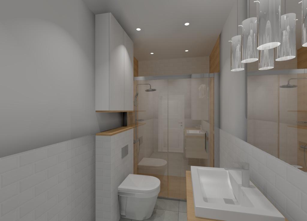 Skandynawska łazienka Pomysł Na Projekt Aranżację łazienki Biały